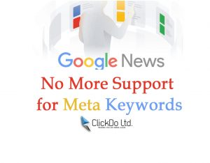 No More Support for news meta keyword