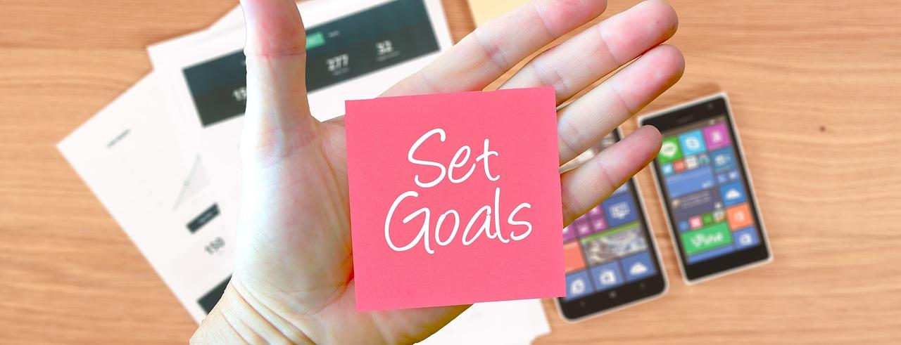 set proper goals