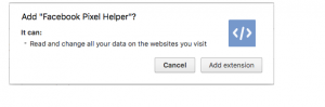 target the customers using Facebook Pixel data