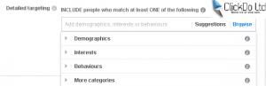 facebook audience target