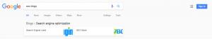 SEO Blog - Google Blog Update