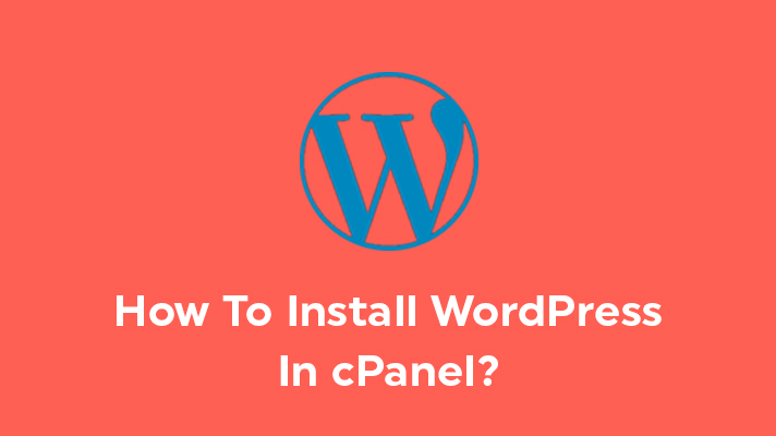 Wordpress installation in cPanel