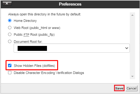 301 Redirect in .htaccess - Show hidden files